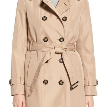 Calvin Klein Double Breasted Trench Coat | Nordstrom