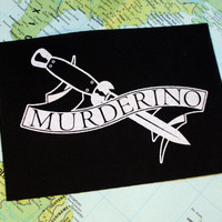Murderino patch - My favorite murder podcast patch, MFM, stay sexy, feminist punk patch, patches for jackets, nasty woman, SSDGM, true crime