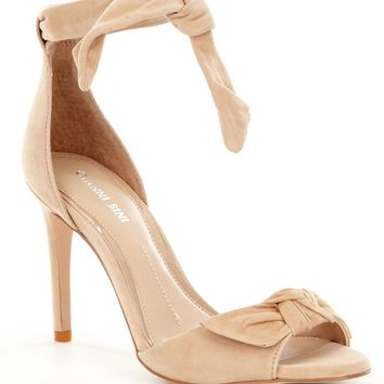 Gianni Bini Belinda Bow Tie Dress Sandals | Dillards