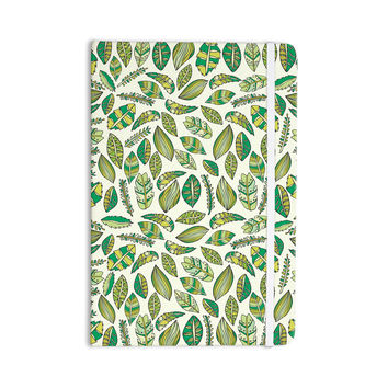 "Pom Graphic Design ""Tropical Botanicals"" Nature Green Everything Notebook"