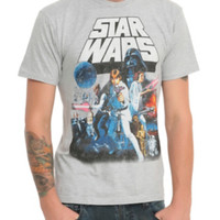 Star Wars Poster T-Shirt 3XL