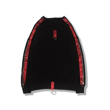 Round-neck Pullover Hoodies Strong Character Hip-hop Jacket [27737096211]