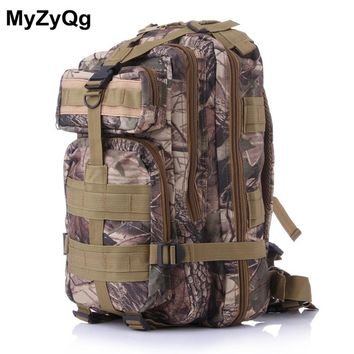 Outdoor Sports  Mountaineering Climbing Hiking Bag Hunting Tactical Backpack  Survival Backpack Bionic Camouflage