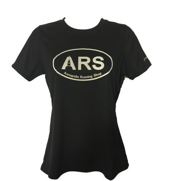 Women's Brooks ARS Technical T-Shirt - Black