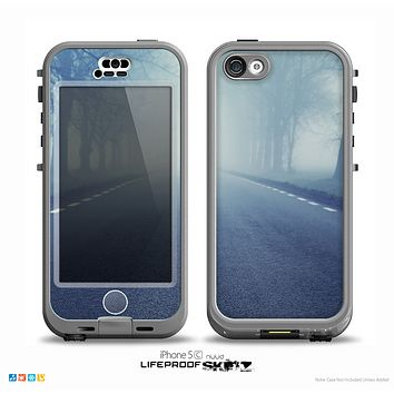 The Foggy Back Road Skin for the iPhone 5c nüüd LifeProof Case