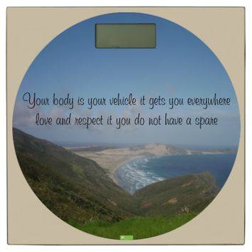 Vehicle Quote by Kat Worth Bathroom Scale