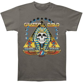 Grateful Dead Men's  Egypt '78 T-shirt Charcoal