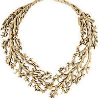 Aurélie Bidermann | Aphrodite gold-plated tree branch necklace | NET-A-PORTER.COM