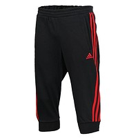 Adidas Women Men Fashion Casual Sport Gym Stretch Pants Cropped