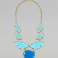 Marisol Necklace, Blue