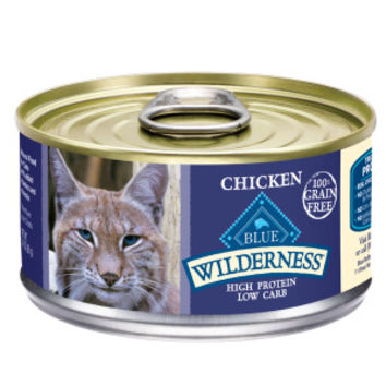 BLUE Wilderness® Grain Free Adult Cat Food | Canned Food | PetSmart