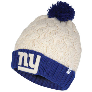 New York Giants - Matterhorn Large Weave Knit Beanie