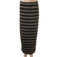 Bailey 44 Womens Striped Stretch Maxi Skirt