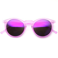 Retro P3 Round Revo Lens Colorful Sunglasses 8932