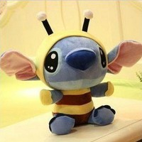 Bees disney stitch plush doll