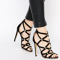 River Island Strappy Heeled Sandals