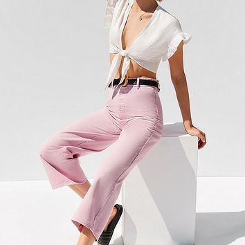BDG High + Wide Cropped Jean – Cole   Urban Outfitters