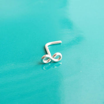 Tiny Sterling Silver Infinity Nose Stud, Tiny Gold Infinity Nose Ring, Tiny Nose Stud Earring, Infinity Nose Earring, Infinity Post Earring