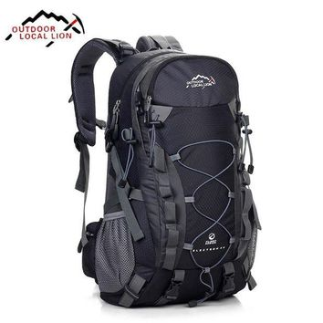 DCCKFV3 Local Lion Hiking Backpack Climbing Travelling Camping Backpacks Professional Trekking Bags Rucksack Bolsas Mochila 32*15*50CM