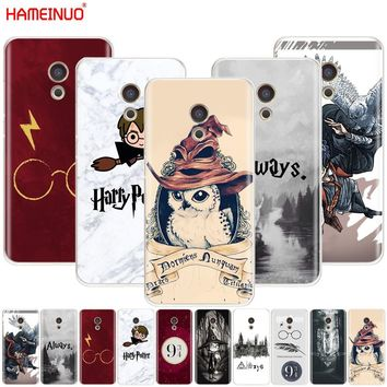 HAMEINUO Harry Potter always Style Cover phone Case for Meizu M6 M5 M5S M2 M3 M3S MX4 MX5 MX6 PRO 6 5 U10 U20 note plus