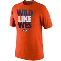 Nike Wes Welker Denver Broncos Play Maker T-Shirt - Orange