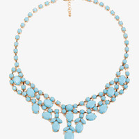 Opaque Rhinestone Necklace | FOREVER 21 - 1031556913