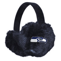 Seattle Seahawks Women's Faux Fur Ear Muffs