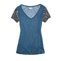Aerie Shine Tee | American Eagle Outfitters