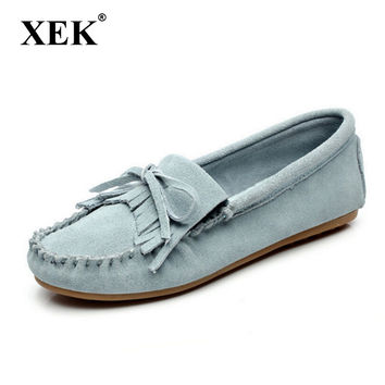 New 2017 Women flats Genuine Leather shoes Moccasins women flat shoes Fashion driving mother's causal Loafer shoes FL3009