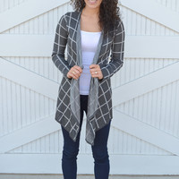 Cooldown Cardigan: Grey
