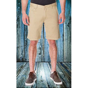 Men's Khaki Chino Short