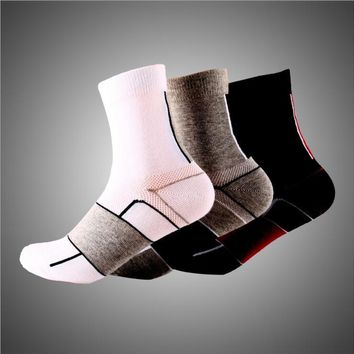 Casual Socks High Elasticity Export Elastic Road Cotton Bicycle Durable Deodorization Breathable Socks