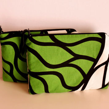 MARIMEKKO Bottna Cosmetic Pouches, Pair of Cosmetic Pouches, Girlfriend Pouches, Tablet/Pencilcase Pouche