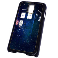 Doctor Who Tardis In Space Widescreen FOR SAMSUNG GALAXY S5 CASE**AP*