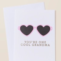 One Cool Grandma Card