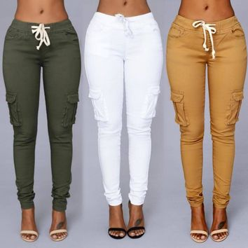 Women's Casual Leggings/Jeggings with Pockets