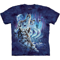 FIND 10 WOLVES T-Shirt by The Mountain Wolf Hidden Images Art S-3XL NEW