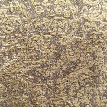 Royale Damask - Brown Fabric by Yard
