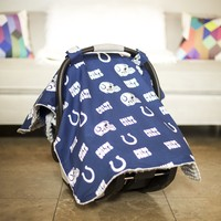 Carseat Canopy - Indianapolis Colts