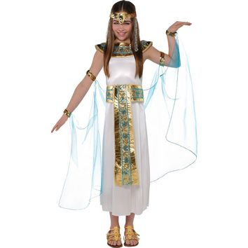 Girls Shimmer Cleopatra Costume