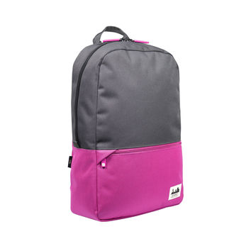 Projekt Karl Backpack Magenta/Charcoal