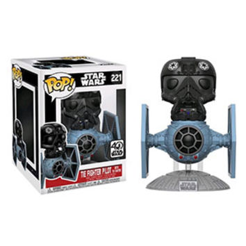 POP Star Wars TIE Fighter with Pilot Vinyl Figure