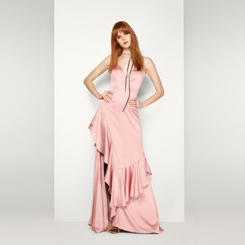 Dusty Rose The Delphine Dress | Fame & Partners USA