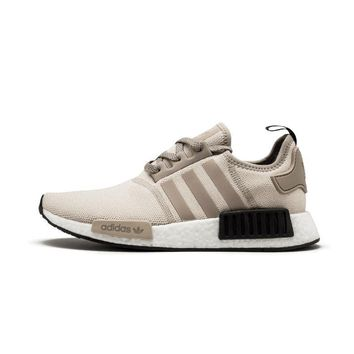 Adidas NMD R1 Boots Casual Sports Shoes Khaki white soles