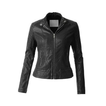 'Rock Revival' Moto Jacket