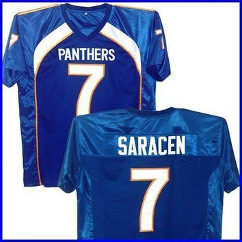Matt Saracen Friday Night Lights Football Dillon Panthers Jersey 7 Stitched