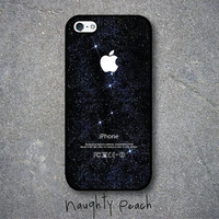 iPhone 5 Case - Twinkling Stars (Black case)
