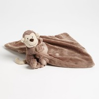 Toddler Jellycat 'Bashful Monkey Soother' Stuffed Animal & Blanket