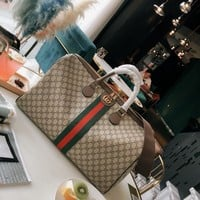 8-26【NEW】GUCCI Latest Travel Bags Tote Bag Airport Bag
