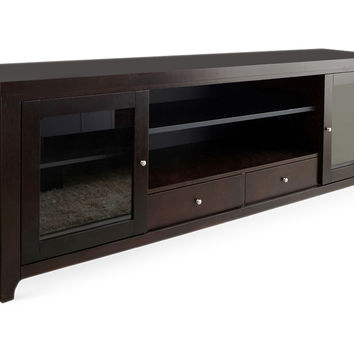 "Charlie 72"" Media Console, Espresso, Media & TV"